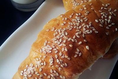 肉松肠小面包