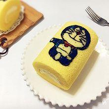 彩绘蛋糕卷#舌尖上的春宴#