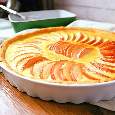 奶油苹果派
