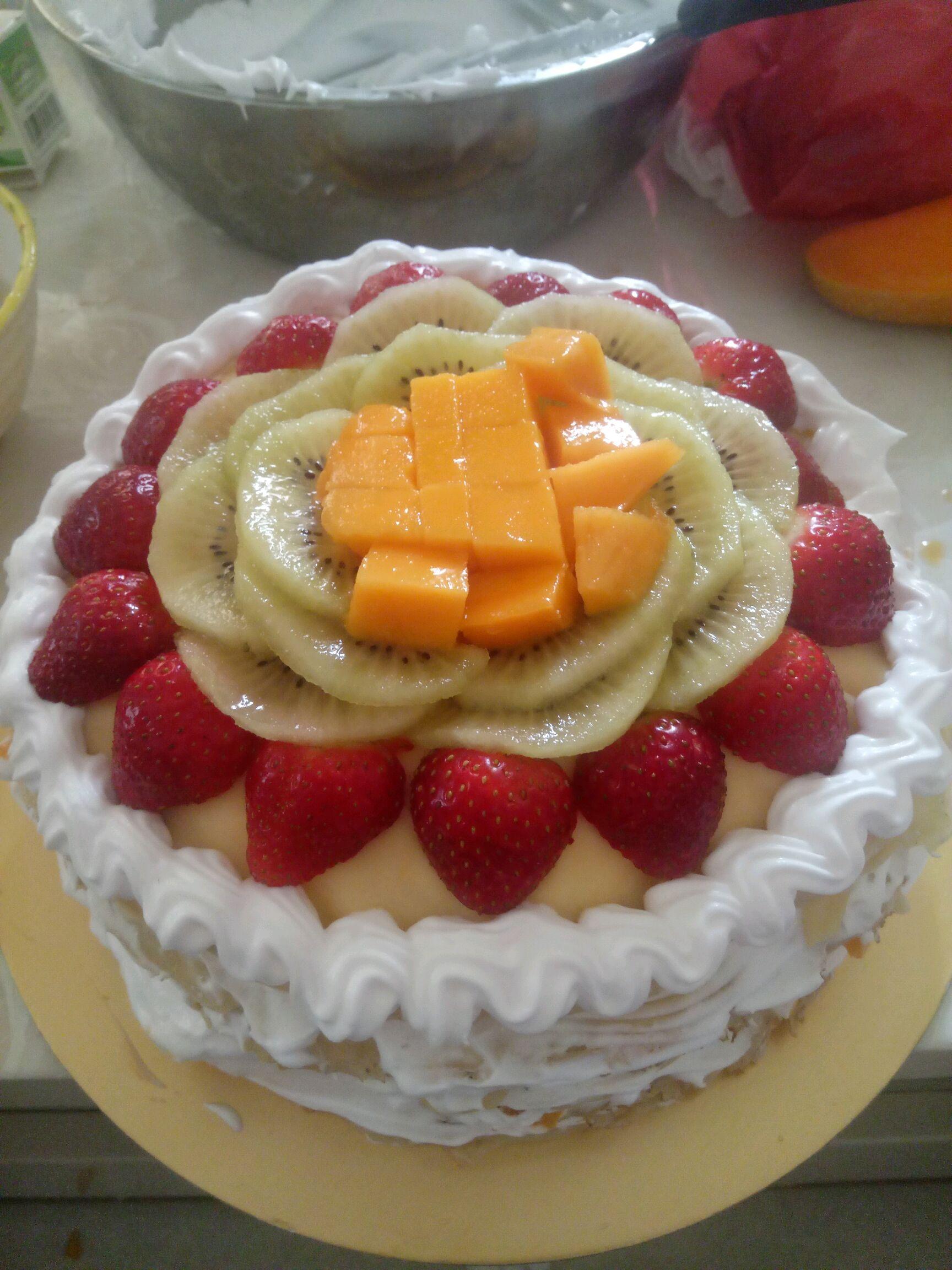 芒果千层蛋糕的做法步骤