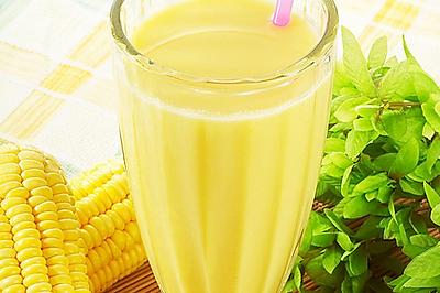芒果玉米豆浆