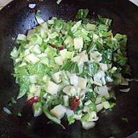 小白菜熬土豆的做法图解8