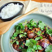 蒜香肉末酱茄子--米饭杀手(4)的做法图解13