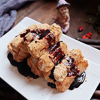 在家做地道小吃:红糖糍粑的做法图解7