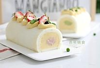 低脂豆乳天使蛋糕卷的做法