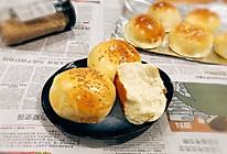 奶香小面包_汉堡包_1次发酵法的做法