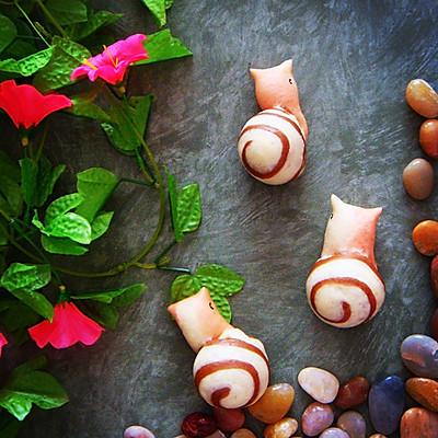花样面食之蜗牛馒头的做法_【图解】花样面食之蜗牛做