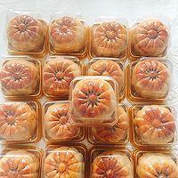 广式豆沙蛋黄月饼50g的做法图解10