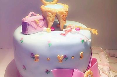 韩式翻糖蛋糕