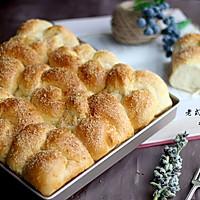 老式面包之椰香味#有颜值的实力派#