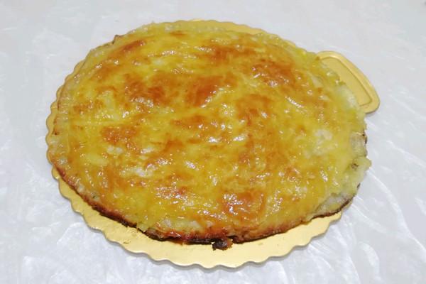 酥香菠萝芝士饼(手抓饼)的做法