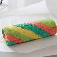 让人心情愉悦的彩虹蛋糕卷(详细步骤)的做法图解18