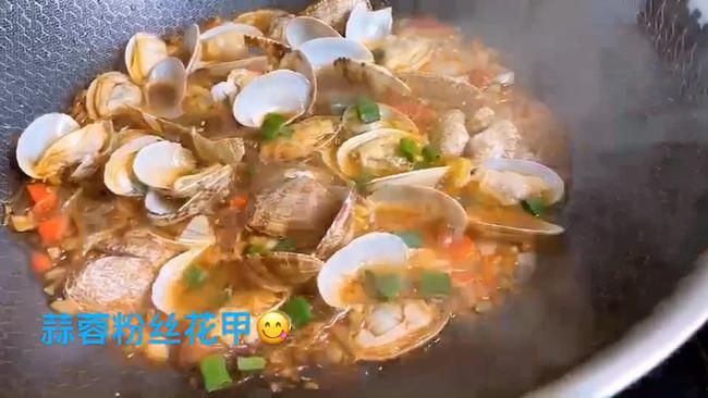#美食视频挑战赛#蒜蓉粉丝花甲的做法