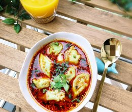 #精品菜谱挑战赛#酸汤饺子的做法