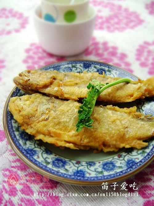 干炸小黄鱼——豆果美食的做法