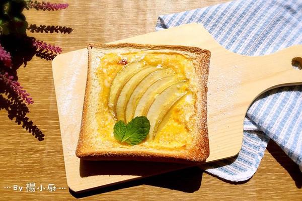 """苹果烘吐司#享""""美""""味#的做法"""
