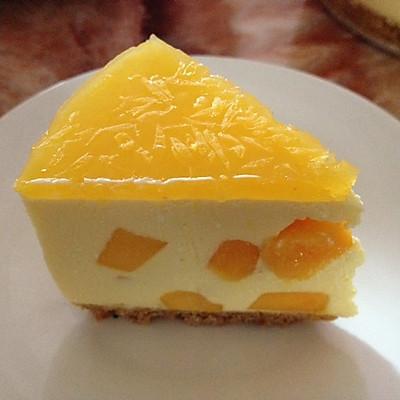 初恋的味道—芒果芝士冻饼(超细过程版)