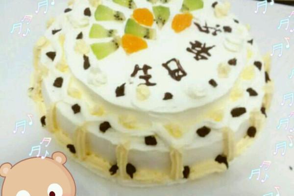 奶油生日蛋糕(电饭煲版)的做法