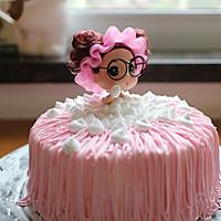 沐浴娃娃生日蛋糕