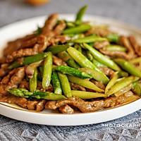 芦笋炒牛柳的做法图解9
