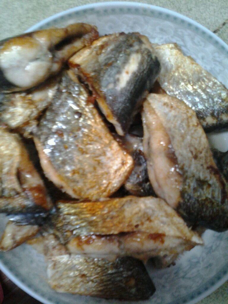 香煎海鱼的做法图解2