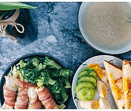 快手早餐,养脾胃,减脂的做法
