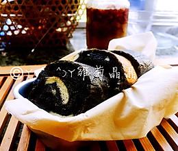 竹炭蛋糕卷的做法