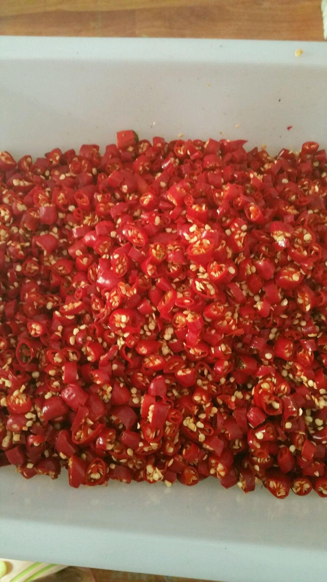手工香菇辣椒酱的做法步骤