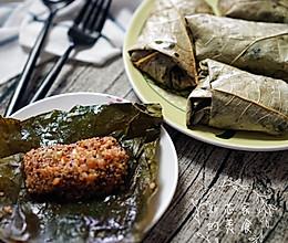 荷叶芝士鲜虾藜麦的做法