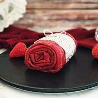 红丝绒缎面毛巾卷的做法图解17