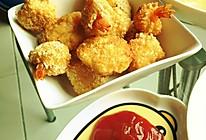 自制KFC黄金虾球的做法