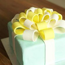 Tiffany礼物盒蛋糕