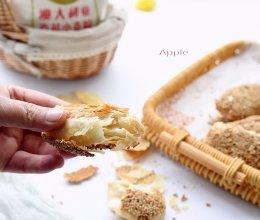 芝麻小酥饼的做法