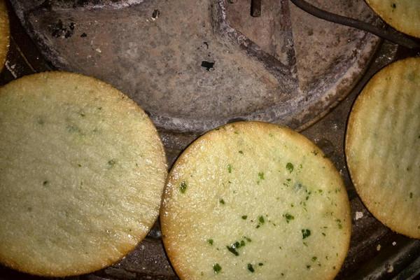 烤海苔饼的做法
