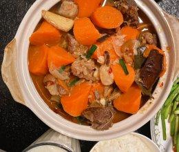暖冬砂锅羊肉煲的做法