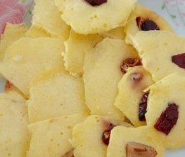 超简易微波炉牛奶红枣小饼干的做法
