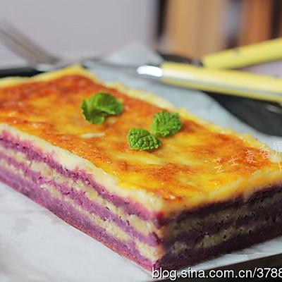 芝士麦香焗紫薯