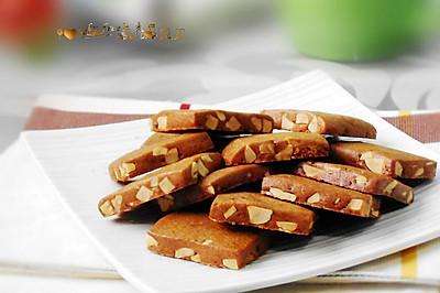 红糖杏仁饼干