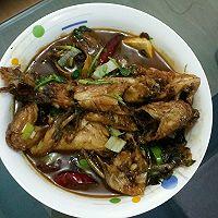 红烧黄颡鱼 (嘎牙子鱼)(黄骨鱼)( 黄丫头)