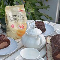 巧克力脆皮蛋糕卷的做法图解24