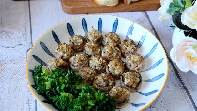 蒜蓉烤口蘑的做法