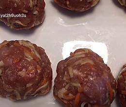 芝士焗肉丸的做法