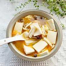 冬季鲜香暖胃菌菇豆腐汤