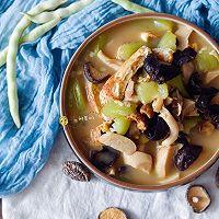 素食记—丝瓜菌菇炖