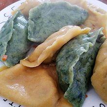 黄瓜虾仁全麦水饺