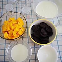 6寸芒果慕斯蛋糕的做法图解1