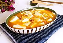 蟹粉豆腐#春天不减肥,夏天肉堆堆#的做法