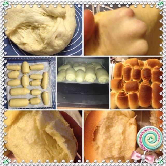 牛奶面包的做法_【图解】牛奶面包怎么做好吃_夏天