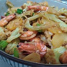 家常菜—干锅杂菜虾