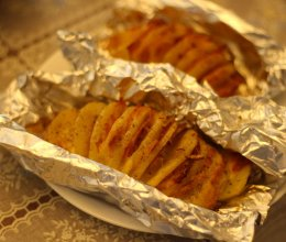 培根芝士风琴土豆的做法